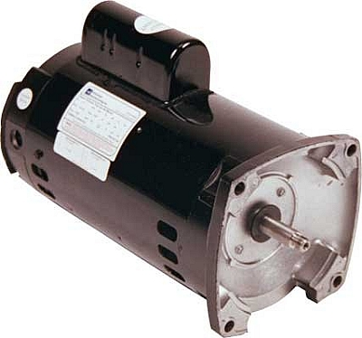 Advantage 2 hp 2 speed square flange motor 2sq2 for Square flange pool pump motor