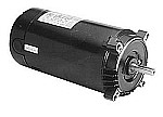AO Smith .50 HP EE Square Flange Threaded Shaft Motor SK1052